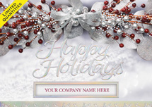 Sheer Elegance Holiday Cards